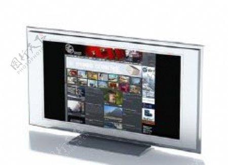 电视机3d模型电器模型图片36