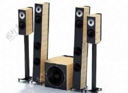 音箱3d模型电器模型图片10