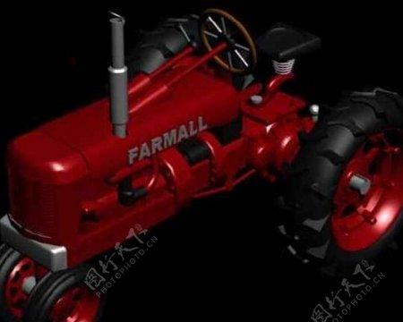 农用机械模型