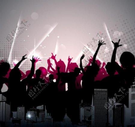 舞蹈音乐背景图片