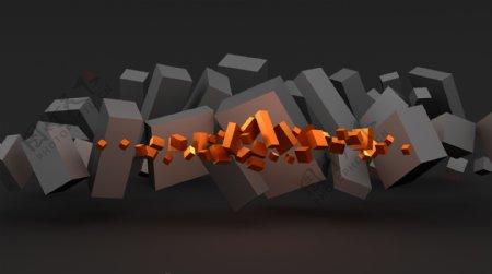 动态立方体03高清图片