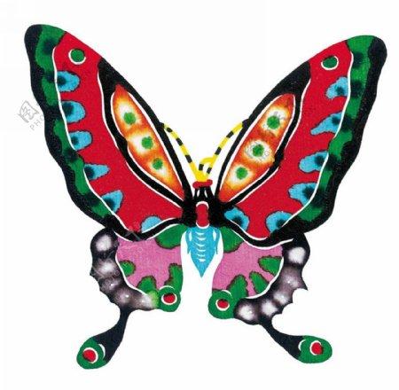 花蝴蝶剪纸