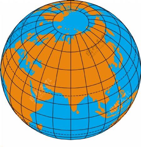 地球矢量图4