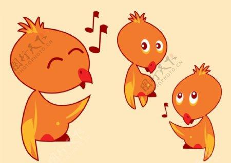 唱歌的小鸟图片