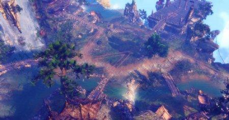 剑灵游戏风景图片