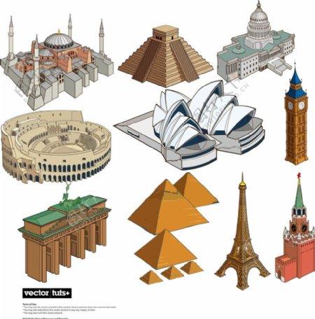 世界著名建筑图片