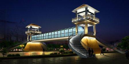 建筑夜景照明设计图片