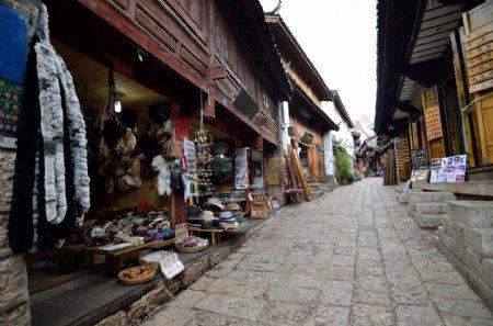 云南丽江商业街图片