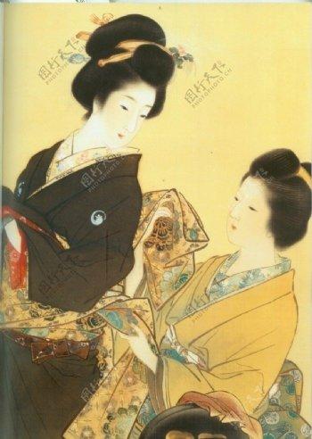 高清美女日本女人传统文化图片