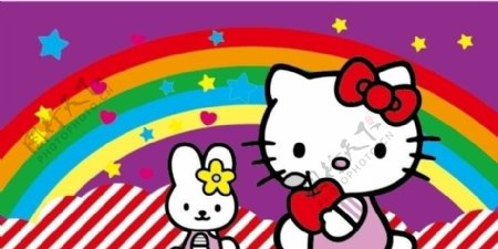 可爱小猫小猫矢量图片