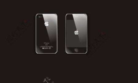 时代的潮流iphone4代广告图片