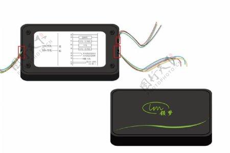 电路接线盒子效果图设计