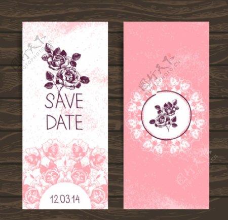 淡粉色婚礼