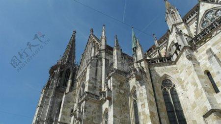欧洲风格的教堂
