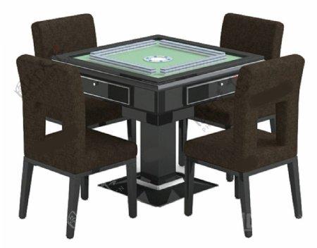 麻将桌素材模板下载