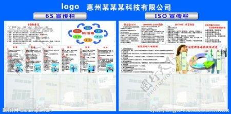 6S宣传栏ISO宣传栏