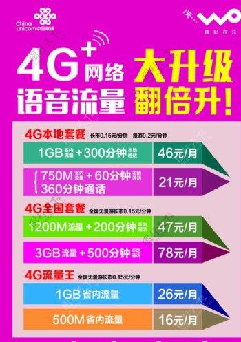 联通4G网络大升级