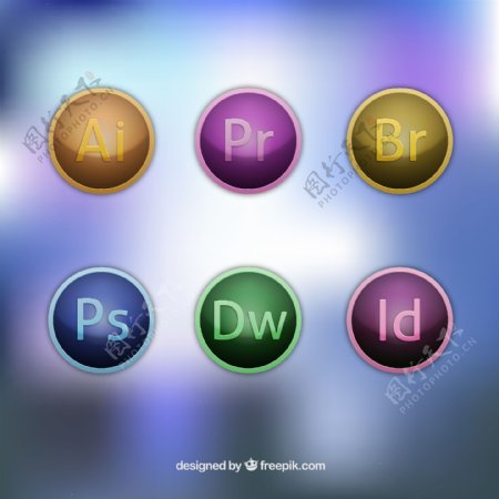 Adobe软件的图标
