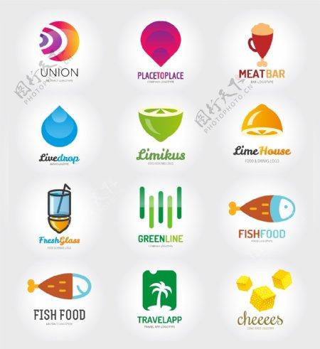 食品标识标志图标
