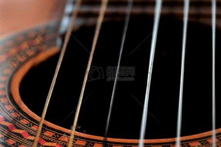 乐器琴弦精美图