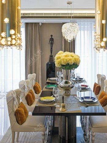 欧洲风格客厅室内设计家装效果图