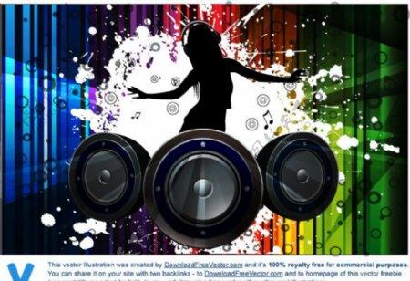 动感音乐素材