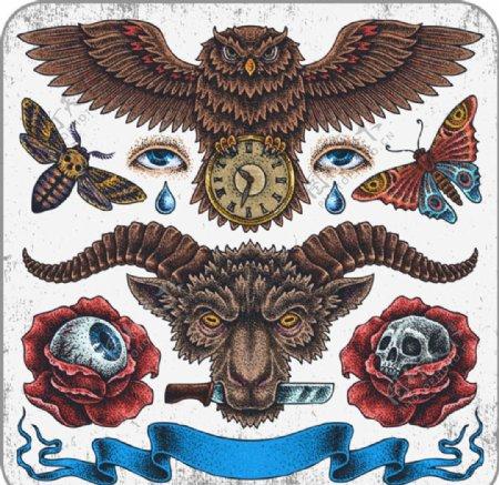 欧美纹身图案