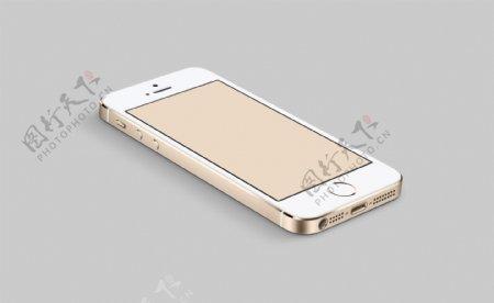 金色iphone5s图片