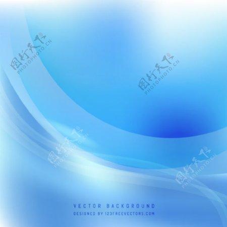 浅蓝色背景模板