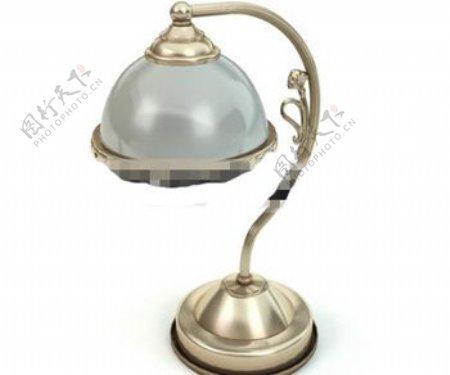 欧洲风格的金属雕刻的灯