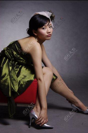时尚美女明星图片