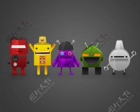 安卓Android机器人图片