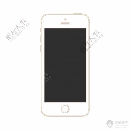 iphone5S线形素材模版图片