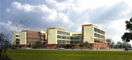 小学教学楼环境设计图片