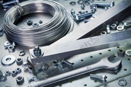 工业生产维修工具图片
