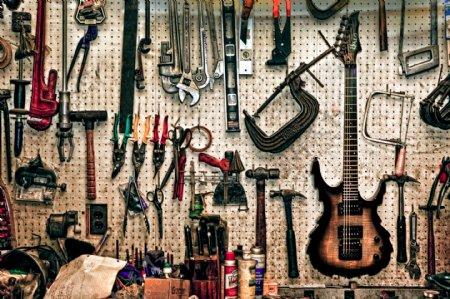 工业生产各种工具图片