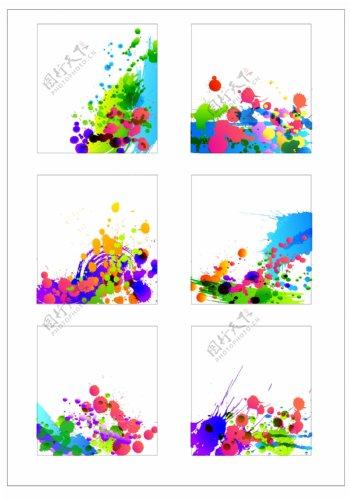 笔刷设计应用背景图案矢量素材AI格式0333