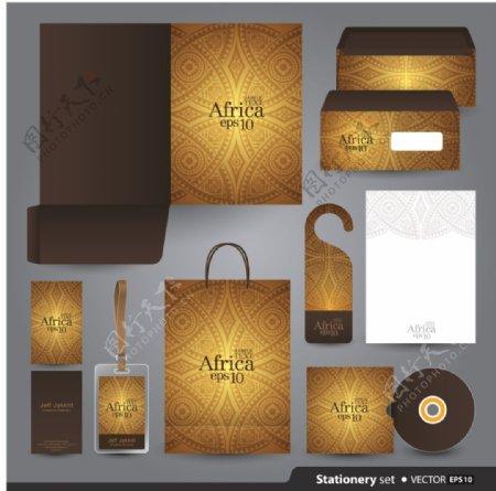 金融包装创意文化vi素材