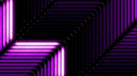 酒吧VJ紫色炫光视觉特效