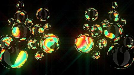 酒吧VJ炫光小球体视觉特效