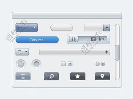 苹果风格的UI元素