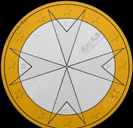马耳他1欧元