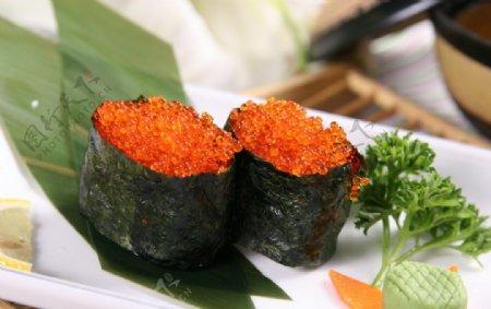 飞鱼籽寿司