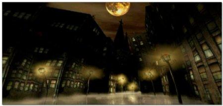城市路灯视频有音乐素材
