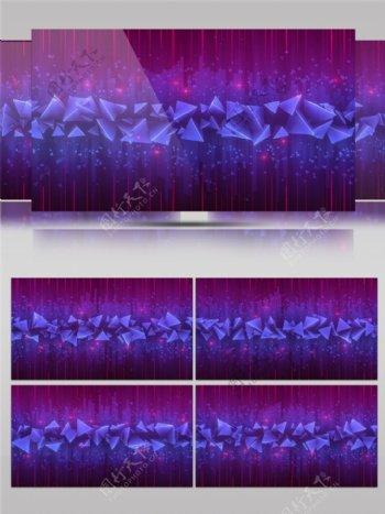 紫色脉冲光束视频素材