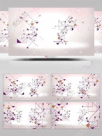 科技点线网络互联网大数据物联网背景视频