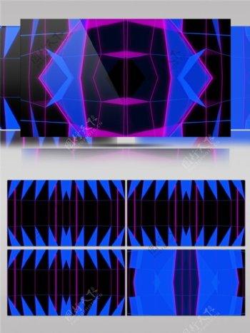 蓝色光束棱镜视频素材