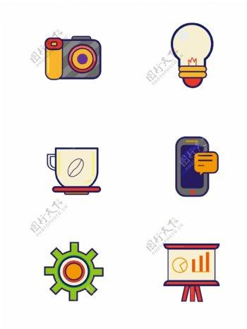 手机图标iocn常用矢量图标ui网页元素