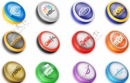 著名品牌标志按钮图标ICO格式