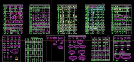 CAD室内设计图库